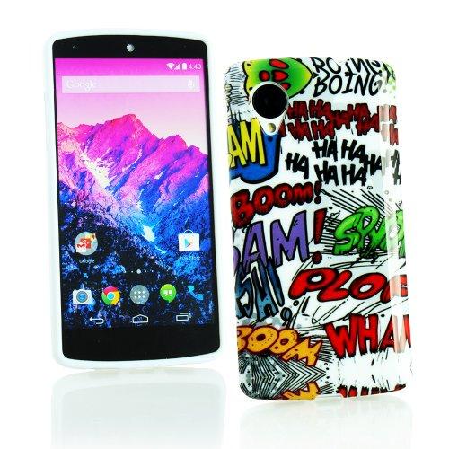 kit-me-out-uk-tpu-gel-case-for-lg-google-nexus-5-multicoloured-white-comic-captions