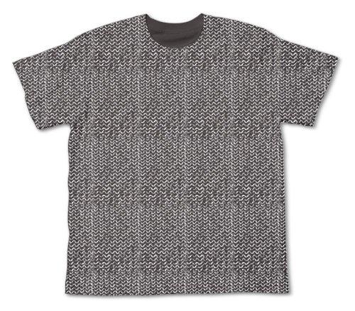 ITEMYA チェインメイル Tシャツ チャコール サイズ:L