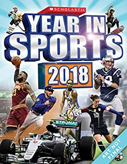 Book Cover: Scholastic Year in Sports 2018