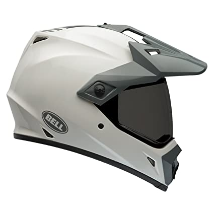 Bell Casques 7061462 MX 2015 MX-9 Adventure Adult Casque, Solid Blanc, Medium