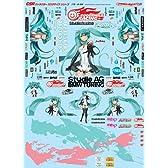GSRキャラクターカスタマイズシリーズ デカール026/Racingミク 2011ver. 1/24scale用