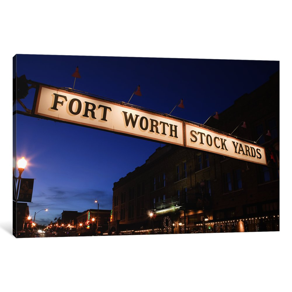 Fort Worth Stockyards Sign