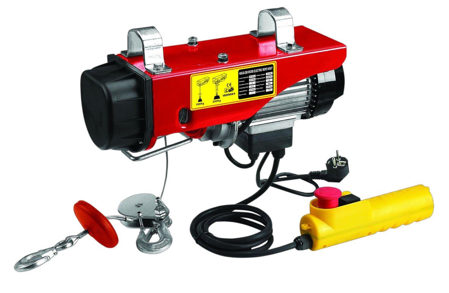 Berger + Schröter 60380 elektrischer Seilhebezug 200/400 kg  BaumarktKundenbewertung und Beschreibung
