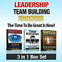Leadership, Team Building, Success: The Time to Be Great Is Now!: The Best Ways to Be a Great Leader, Build a Great Team, & Become Successful (       UNABRIDGED) by Ace McCloud Narrated by Joshua Mackey
