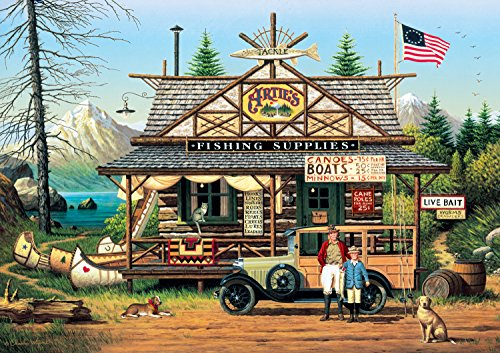 Buffalo Games Charles Wysocki: Proud Lil Angler 300 Piece Jigsaw Puzzle by Buffalo Games