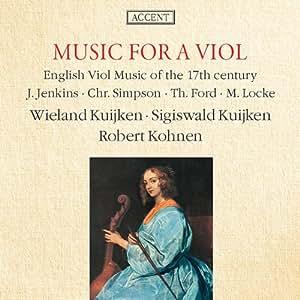 Englische Gambenmusik des 17. Jahrhunderts - Werke von Locke, Ford, Simpson und Jenkins