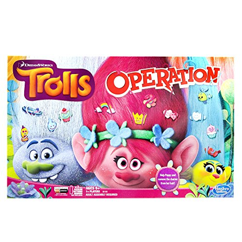 Trolls Operation Board Game (Tabletop Playhouses For Kids compare prices)