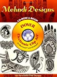 Image of Mehndi Designs CD-ROM and Book (Electronic Clip Art)