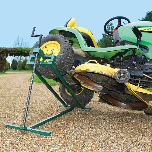 Oypla Heavy Duty Sit-on Garden Lawn Mower Jack