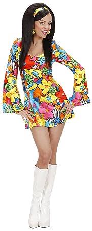 Robe flower power Hippie femme