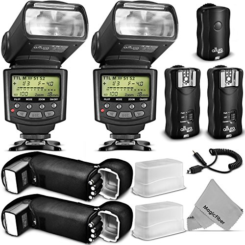 Altura-Photo-Studio-Pro-Flash-Kit-for-NIKON-DSLR-Bundle-with-2pcs-I-TTL-Flash-AP-N1001-Dual-Wireless-Flash-Trigger-Set-and-Accessories