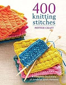 Potter Craft Books 400 Knitting Stitches POT-62732