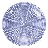 Arabia アラビア フィンランド北欧食器 24h Avec 008284 フラットプレート 皿 Plate flat 20cm Blue ブルー 並行輸入品