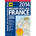 AA Road Atlas France 2014 (International Road Atlases)