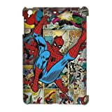 Nexttt Design Ipad Mini Spiderman Case Apple iPad Mini Cool Creative Awesome Spider-Man Red Blue Colorful Hard Case Covers