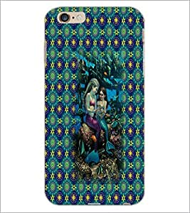 PrintDhaba Mermaids D-3086 Back Case Cover for APPLE IPHONE 6S (Multi-Coloured)