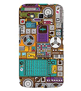 Music Player 3D Hard Polycarbonate Designer Back Case Cover for Samsung Galaxy Grand 2 :: Samsung Galaxy Grand 2 G7105 :: Samsung Galaxy Grand 2 G7102