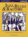 img - for Jazz, Blues & Ragtime: Violin and Piano - Complete book / textbook / text book
