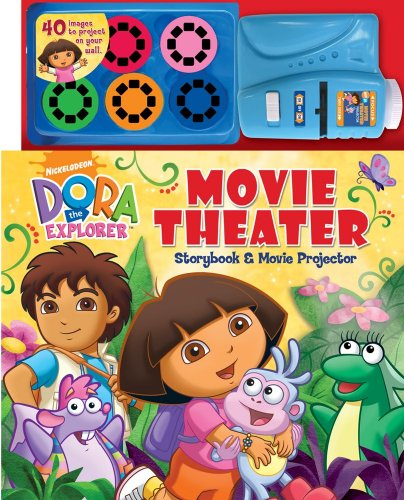 Dora the Explorer Movie Theater Storybook & Movie Projector (Movie Theater Storybooks)