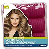 Conair Mega Self Holding Rollers, (Colors May Vary) 9 Count