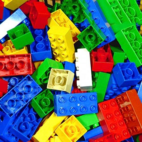 60 x LEGO DUPLO BASIC STEINE 10 Stk. 2 x 4 Noppen