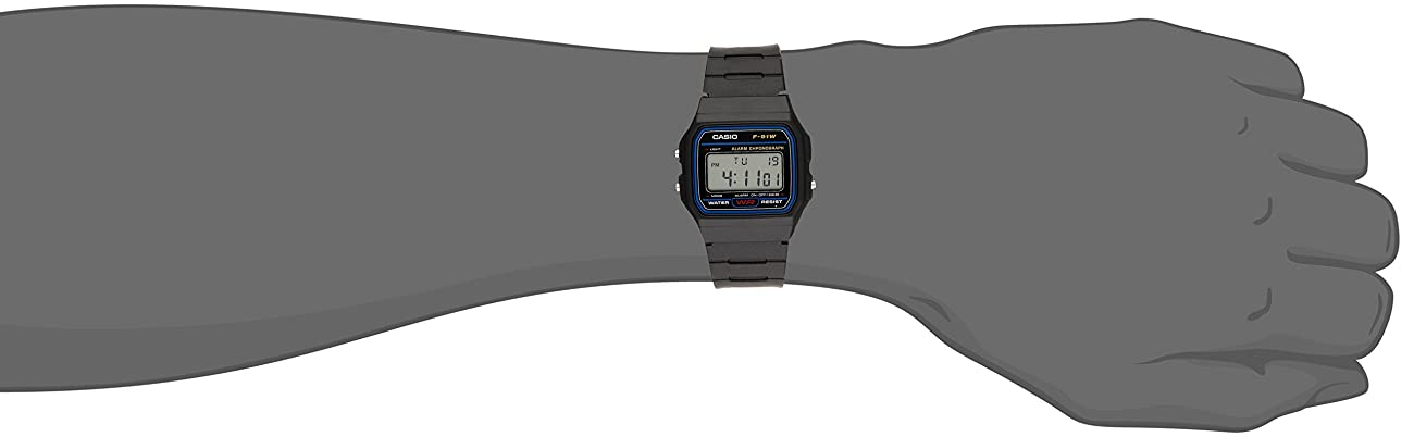 Casio F91W-1 Classic Resin Strap Digital Sport Watch 1