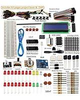 SunFounder Super Starter Kit de composants de carte électronique Arduino UNO R3 Mega2560 Mega328 Nano pour débutant