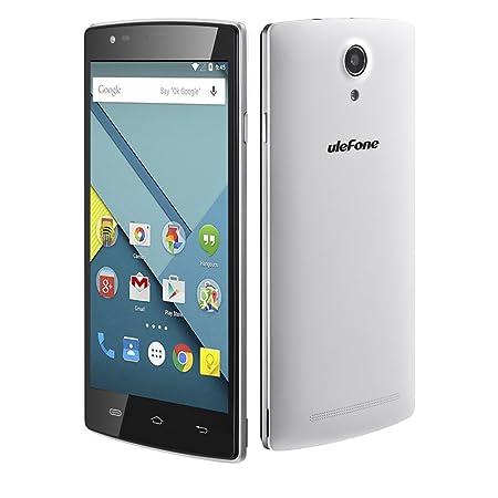Ulefone Be Pro 5.5-Inch 4G 64bit Highlights MTK6732 1.5GHz Internal RAM:2G+ROM:16G Quad Core 64-bit Processing Chip Smartphone (Blanc)