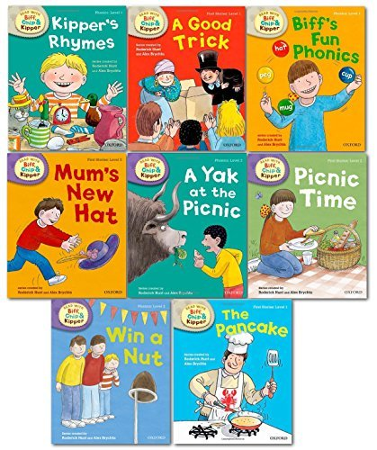oxford-reading-tree-read-with-biff-chip-kipper-phonics-first-stories-collection-8-books-set-level-1-