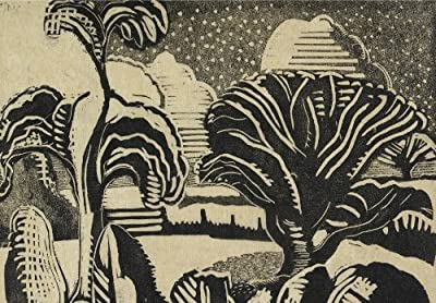 Snow Scene Paul Nash (1889-1946)