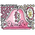 Wallies 15203 Girly Headboard Wallpaper Mural, 2-Sheet