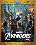 Cover art for  Marvel&#039;s The Avengers (Four-Disc Combo: Blu-ray 3D/Blu-ray/DVD + Digital Copy + Digital Music Download)