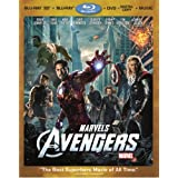 Marvel&amp;#39;s The Avengers (Four-Disc Combo: Blu-ray 3D/Blu-ray/DVD + Digital Copy + Digital Music Download)