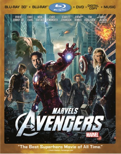 Marvel&#39;s The Avengers (Four-Disc Combo: Blu-ray 3D/Blu-ray/DVD + Digital Copy + Digital Music Download)