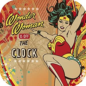 Wonder Woman 9 Inch Plate