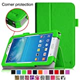 [CORNER PROTECTION] Fintie Samsung Galaxy Tab 3 Lite 7.0 Folio Pro Case Cover for SM-T110 and SM-T111 3G 7-inch (3 Year Manufacturer Warranty) - Green
