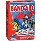 Band-Aid Brand Adhesive Bandages Transformers 20-Count Boxes Pack Of 6