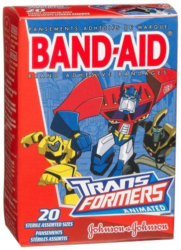 Band-Aid Brand Adhesive Bandages, Transformers