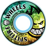 Spitfire Fire In The Sky 53mm 99d White Skateboard Wheels (Set Of 4) by Spitfire