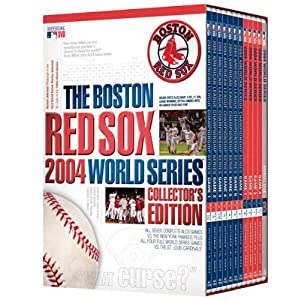 A&E Video Boston Red Sox 2004 World Series Collector DVD Set by MLB