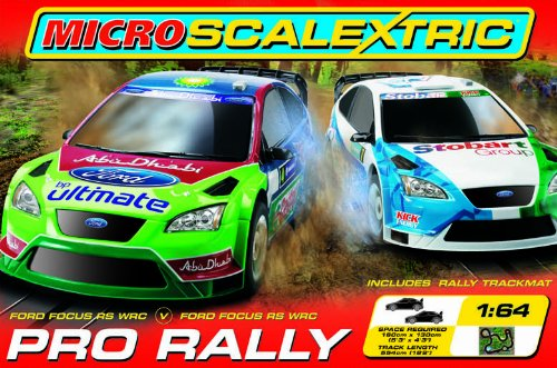 Micro Scalextric G1055 1:64 Scale Pro Rally Race Set