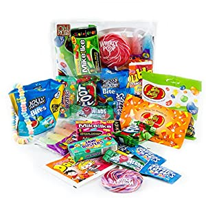 Candy Gift Pack Exploding With Assorted Gourmet Candy - Oh! Nuts