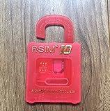 R-SIM10 for iPhone 6/6 Plus/5s/5c/5/4S SIMロック解除アダプタ (シム変換アダプタ3点セット付き)