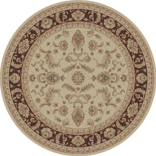 Black friday universal rugs 102612 ivory 8 39 round area rug for Best selling rugs