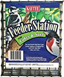 Kaytee Cake Feeder Green Holder Suet Wild Bird Station Design Hanging Feeder