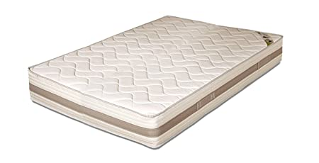 "Mattress ""Mare"" H22 cm Cold Foam with Wave Bed 160 x 190 cm Detachable"