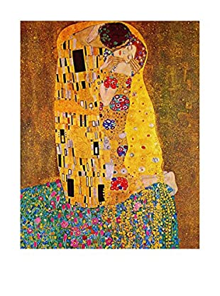 Legendarte Lienzo Il Bacio di Gustav Klimt