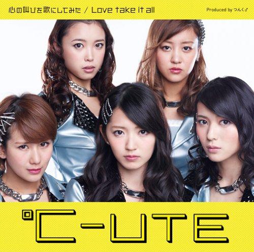 心の叫びを歌にしてみた/Love take it all(初回生産限定盤B)(DVD付)
