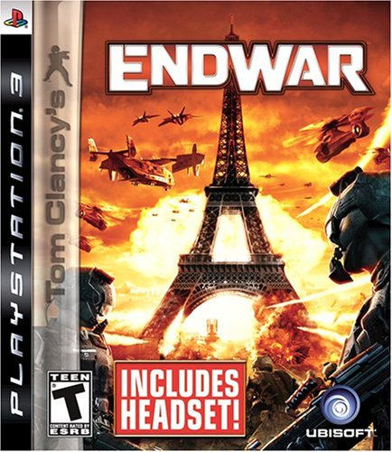 Tom Clancy's EndWar Headset Bundle - Playstation 3
