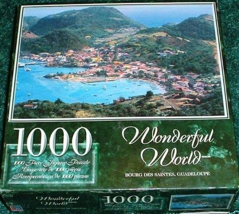 Wonderful World 1000 Piece Jigsaw Puzzle - Bourg Des Saintes, Guadeloupe